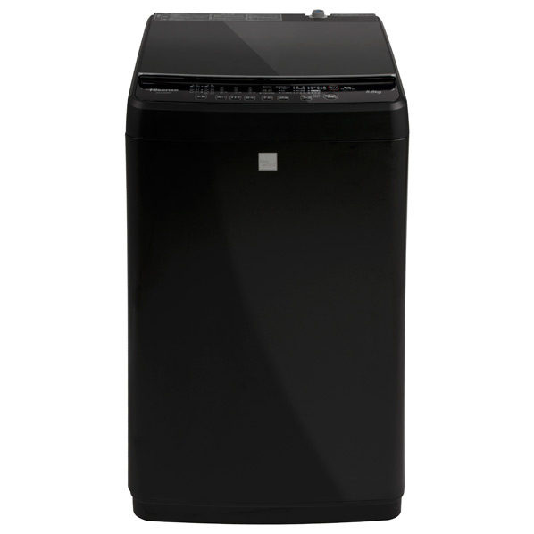 (物流在庫あり)ハイセンス HW-G55E5KK 5.5kg全自動洗濯機 keyword マットブラック [HWG55E5KK] ※配送・設置は、最寄のエディオン配送センターよりお伺いいたします。[全国送料無料 ※一部地域を除く]