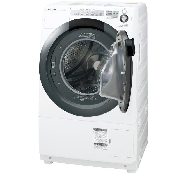 (お取り寄せ)シャープ 【右開き】7.0kgドラム式洗濯乾燥機 ホワイト系 ESS7CWR ※配送・設置は、最寄のエディオン配送センターよりお伺いいたします。[全国送料無料 ※一部地域を除く]