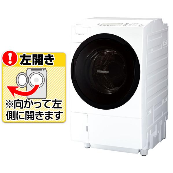 (お取り寄せ)東芝 TW-117A7L(W)【左開き】11.0kgドラム式洗濯乾燥機 ZABOON グランホワイト [TW117A7LW] ※配送・設置は、最寄のエディオン配送センターよりお伺いいたします。[全国送料無料 ※一部地域を除く]