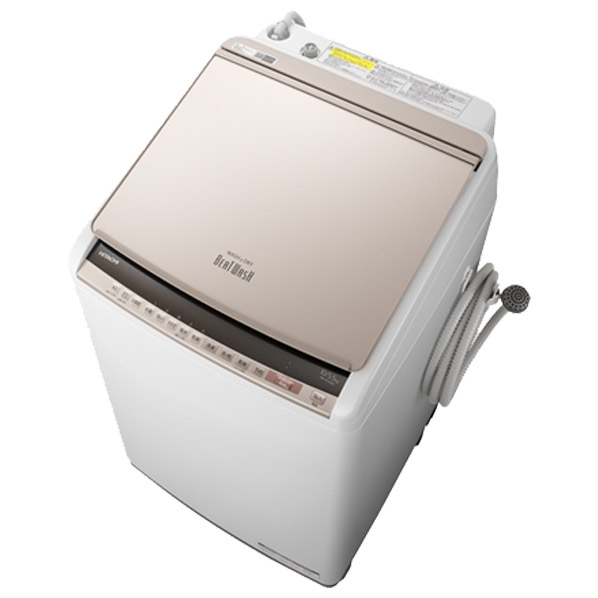 日立 BW-DV100E N 10.0kg洗濯乾燥機 ビートウォッシュ シャンパン [BWDV100EN] ※配送設置:最寄のエディオン商品センターよりお伺い致します。[※サービスエリア外は別途配送手数料が掛かります]
