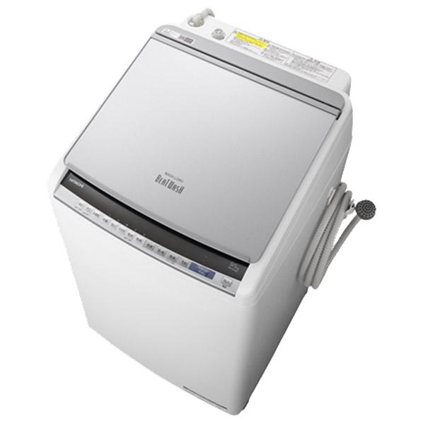 日立 BW-DV90E S 9.0kg洗濯乾燥機 ビートウォッシュ シルバー [BWDV90ES] ※配送設置:最寄のエディオン商品センターよりお伺い致します。[※サービスエリア外は別途配送手数料が掛かります]