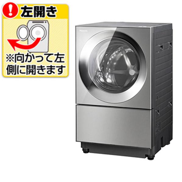 パナソニック NA-VG2300L-X【左開き】10.0kgドラム式洗濯乾燥機 Cuble プレミアムステンレス NAVG2300LX ※配送設置:最寄のエディオン商品センターよりお伺い致します。[※サービスエリア外は別途配送手数料が掛かります]
