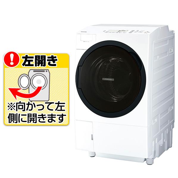 東芝 TW-117A8L(W)【左開き】11.0kgドラム式洗濯乾燥機 ZABOON グランホワイト TW117A8LW ※配送設置:最寄のエディオン商品センターよりお伺い致します。[※サービスエリア外は別途配送手数料が掛かります]