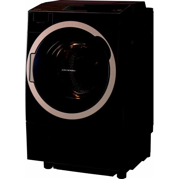 東芝 TW-127X7L(T)【左開き】12.0kgドラム式洗濯乾燥機 ZABOON グレインブラウン TW127X7LT ※配送設置:最寄のエディオン商品センターよりお伺い致します。[※サービスエリア外は別途配送手数料が掛かります]