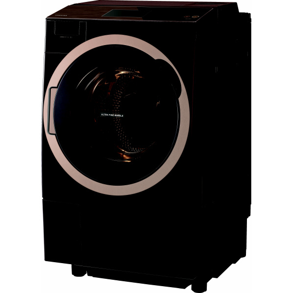 東芝 TW-127X7R(T)【右開き】12.0kgドラム式洗濯乾燥機 ZABOON グレインブラウン TW127X7RT ※配送設置:最寄のエディオン商品センターよりお伺い致します。[※サービスエリア外は別途配送手数料が掛かります]
