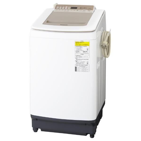パナソニック NA-FD80H7-N 8.0kg洗濯乾燥機 シャンパン NAFD80H7N ※配送設置:最寄のエディオン商品センターよりお伺い致します。[※サービスエリア外は別途配送手数料が掛かります]