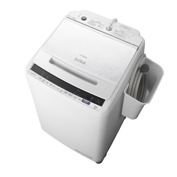 日立 BW-V100EE7 W 10.0kg全自動洗濯機 オリジナル ビートウォッシュ ホワイト [BWV100EE7W] ※配送設置:最寄のエディオン商品センターよりお伺い致します。[※サービスエリア外は別途配送手数料が掛かります]