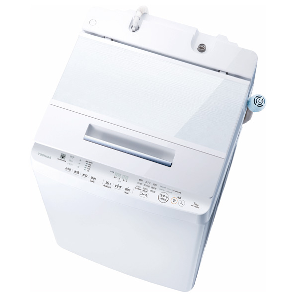 東芝 AW-12XD8(W) 12.0kg全自動洗濯機 ZABOON グランホワイト [AW12XD8W] ※配送設置:最寄のエディオン商品センターよりお伺い致します。[※サービスエリア外は別途配送手数料が掛かります]