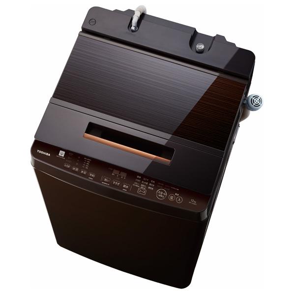 東芝 AW-12XD8(T) 12.0kg全自動洗濯機 ZABOON グレインブラウン [AW12XD8T] ※配送設置:最寄のエディオン商品センターよりお伺い致します。[※サービスエリア外は別途配送手数料が掛かります](搬入不可等によるキャンセルは出来ません)