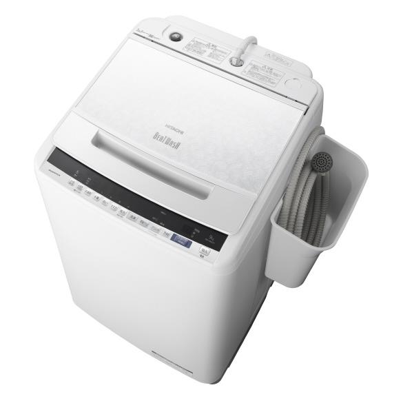 日立 BW-V90EE7 W 9.0kg全自動洗濯機 オリジナル ビートウォッシュ ホワイト [BWV90EE7W] ※配送設置:最寄のエディオン商品センターよりお伺い致します。[※サービスエリア外は別途配送手数料が掛かります](搬入不可等によるキャンセルは出来ません)