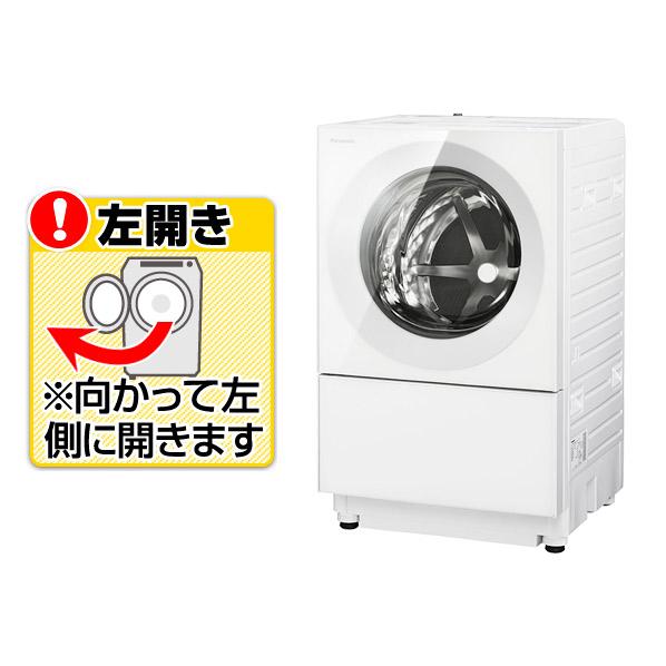 (1ヶ月後入荷予定)パナソニック NA-VG740L-W【左開き】7.0kgドラム式洗濯乾燥機 Cuble マットホワイト NAVG740LW※配送設置:最寄のエディオン商品センターよりお伺い致します。[※サービスエリア外は別途配送手数料が掛かります]