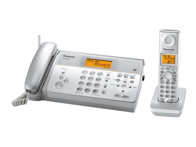 パナソニック (Panasonic) デジタル感熱紙FAX(子機1台)KX-PW211DL-S(シルバー)
