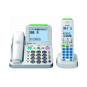 シャープ デジタルコードレス電話機(子機1台タイプ) ホワイト系 JDAT85CL