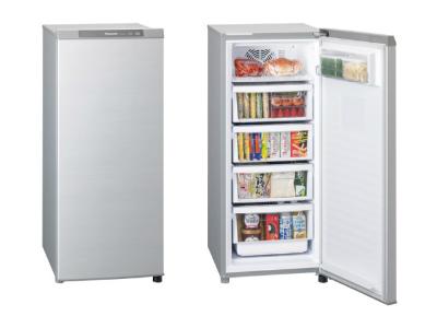 (お取り寄せ)Panasonic(パナソニック) 121L 冷凍庫(ホームフリーザー) NR-FZ120B-S(NRFZ120BS)