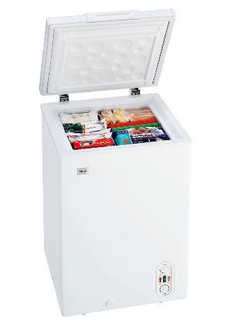 (お取り寄せ)ハイアール 103L チェストタイプ 冷凍庫(フリーザー)直冷式 ホワイトHaier JF-WNC103F(W)