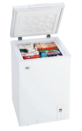 (お取り寄せ)ハイアール 103L チェストタイプ 冷凍庫(フリーザー)直冷式 ホワイトHaier JF-NC103F(W)