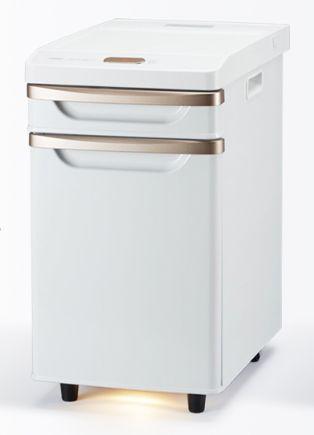 (中国・四国地方限定)ツインバード(TWINBIRD)ベッドサイド冷蔵庫 HR-D282W(ホワイト)
