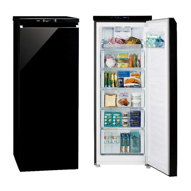(お取り寄せ)AQUA AQF-GS15G(K) ファン式冷凍庫(153L)「COOL CABINET(クール キャビネット)[AQFGS15GK] ※配送・設置は、最寄のエディオン配送センターよりお伺いいたします。[全国送料無料 ※一部地域を除く]