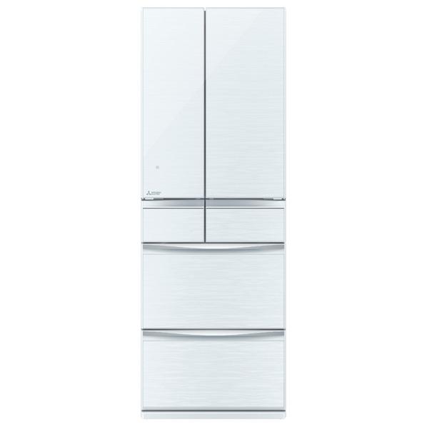 (お取り寄せ)三菱 MR-MX50D-W 503L 6ドアノンフロン冷蔵庫 置けるスマート大容量 クリスタルホワイト [MRMX50DW] ※配送・設置は、最寄のエディオン配送センターよりお伺いいたします。[全国送料無料 ※一部地域を除く]