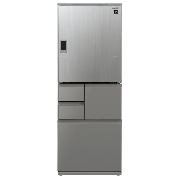 (エリア限定:要確認)シャープ 551L 5ドアノンフロン冷蔵庫 プラズマクラスター エレガントシルバー SJWX55ES ※配送設置:最寄のエディオン商品センターよりお伺い致します。[※サービスエリア外は別途配送手数料が掛かります](搬入不可等によるキャンセルは出来ません)