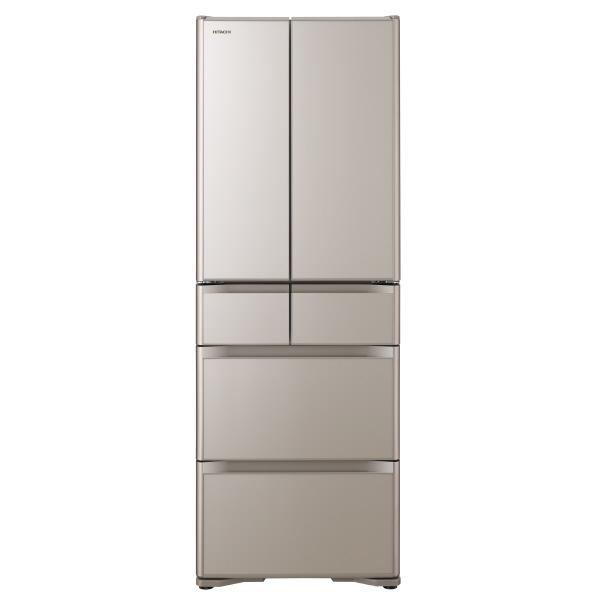 (物流在庫あり)日立 R-XG43J XN 430L 6ドアノンフロン冷蔵庫 真空チルド XGシリーズ クリスタルシャンパン [RXG43JXN]  ※配送・設置は、最寄のエディオン配送センターよりお伺いいたします。[全国送料無料 ※一部地域を除く]