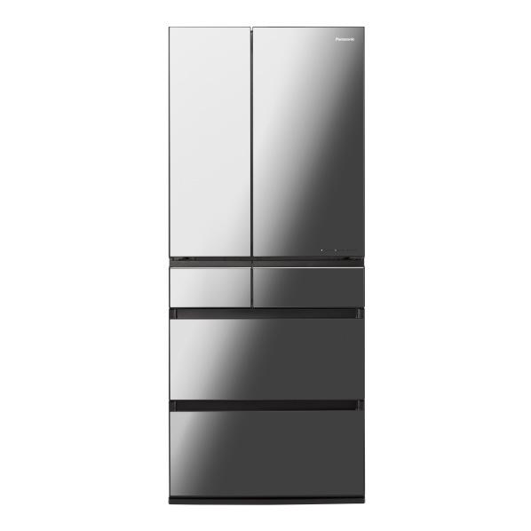 パナソニック NR-F655WPX-X 650L 6ドアノンフロン冷蔵庫 オニキスミラー(ミラー加工) [NRF655WPXX] ※配送設置:最寄のエディオン商品センターよりお伺い致します。[※サービスエリア外は別途配送手数料が掛かります]