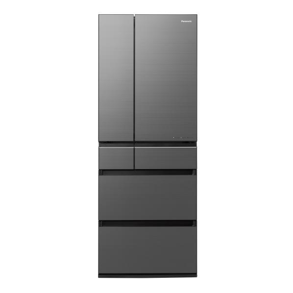 パナソニック NR-F555WPX-H 550L 6ドアノンフロン冷蔵庫 ミスティスチールグレー(フロスト加工) NRF555WPXH ※配送設置:最寄のエディオン商品センターよりお伺い致します。[※サービスエリア外は別途配送手数料が掛かります]