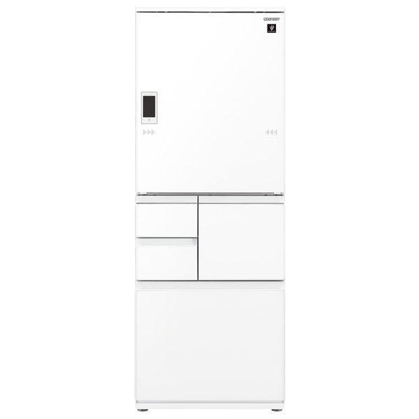 シャープ 502L 5ドアノンフロン冷蔵庫 ピュアホワイト SJWA50EW  ※配送設置:最寄のエディオン商品センターよりお伺い致します。[※サービスエリア外は別途配送手数料が掛かります]