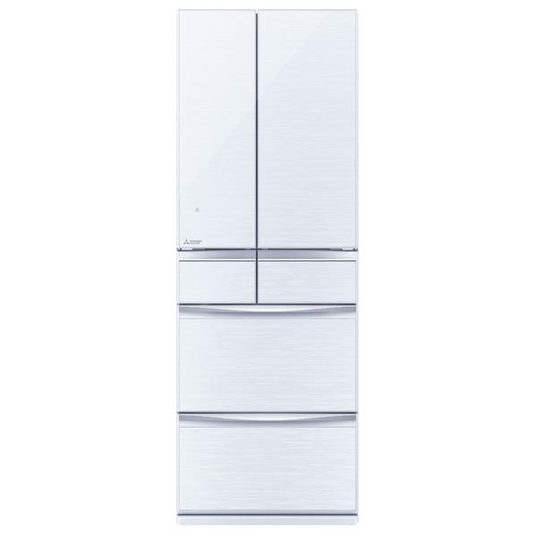 三菱 MR-MX46E-W 455L 6ドアノンフロン冷蔵庫 クリスタルホワイト [MRMX46EW] ※配送設置:最寄のエディオン商品センターよりお伺い致します。[※サービスエリア外は別途配送手数料が掛かります]