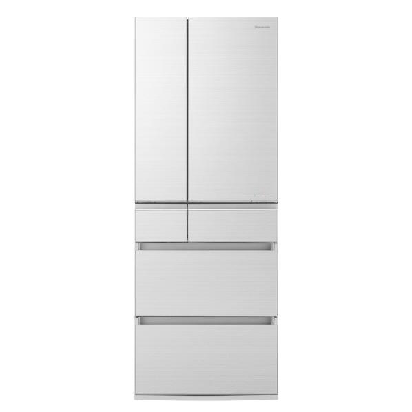 パナソニック NR-F555HPX-W 550L 6ドアノンフロン冷蔵庫 アルベロホワイト [NRF555HPXW]  ※配送設置:最寄のエディオン商品センターよりお伺い致します。[※サービスエリア外は別途配送手数料が掛かります](搬入不可等によるキャンセルは出来ません)