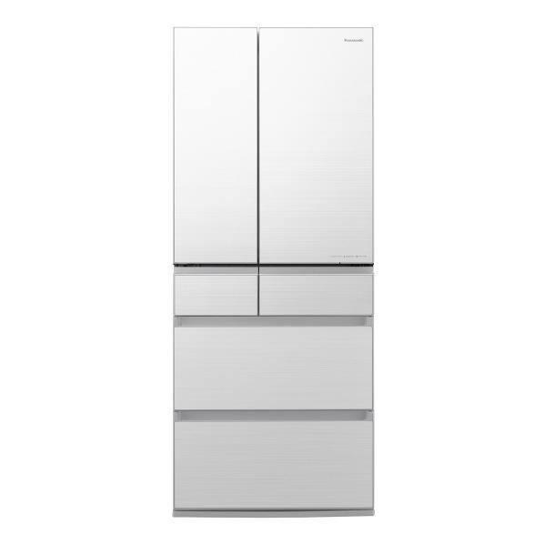 パナソニック NR-F656WPX-W 650L 6ドアノンフロン冷蔵庫 フロスティロイヤルホワイト [NRF656WPXW] ※配送設置:最寄のエディオン商品センターよりお伺い致します。[※サービスエリア外は別途配送手数料が掛かります]