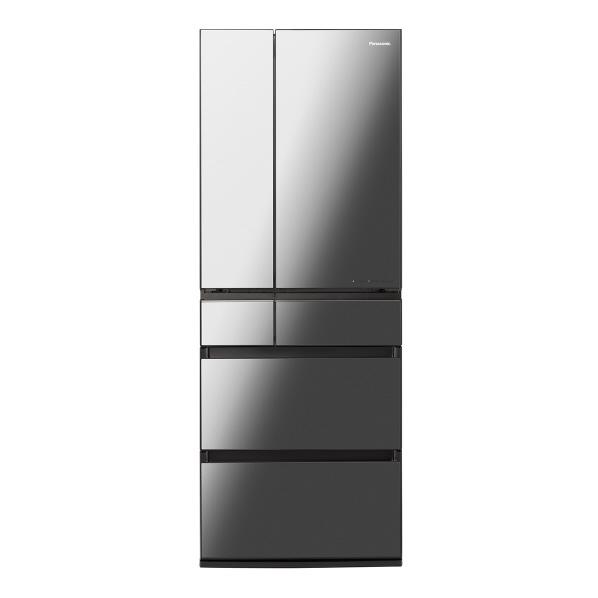 パナソニック NR-F606WPX-X 600L 6ドアノンフロン冷蔵庫 オニキスミラー [NRF606WPXX] ※配送設置:最寄のエディオン商品センターよりお伺い致します。[※サービスエリア外は別途配送手数料が掛かります]