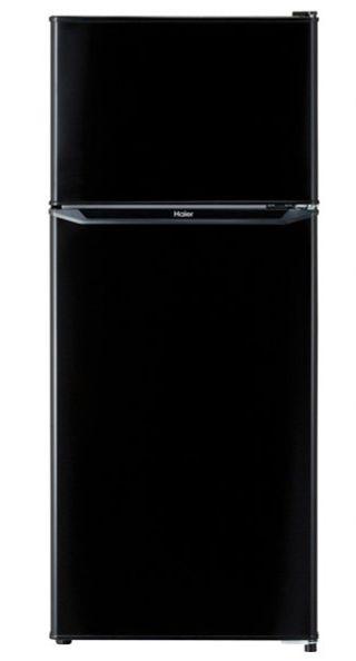 お買い得品 新作 大人気 右開き 置き場所を選ばないスリムボディ ハイアール JR-N130A-K 130L JRN130AK ブラック ※配送のみ 2ドアノンフロン冷蔵庫