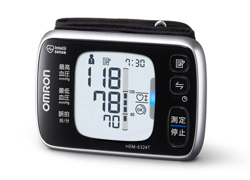 (お取り寄せ)オムロン 手首式血圧計 OMRON HEM-6324T