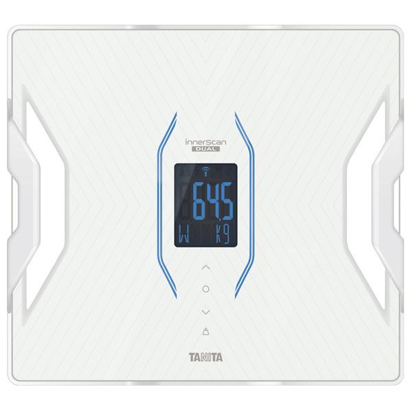 測定データをアプリで管理。 タニタ RD-910-WH 体組成計 インナースキャンデュアル ホワイト [RD910WH]