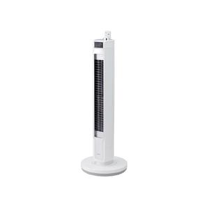 (M在庫限り)KOIZUMI DCモーター搭載タワー扇風機 KuaL ホワイト KTF0583E6