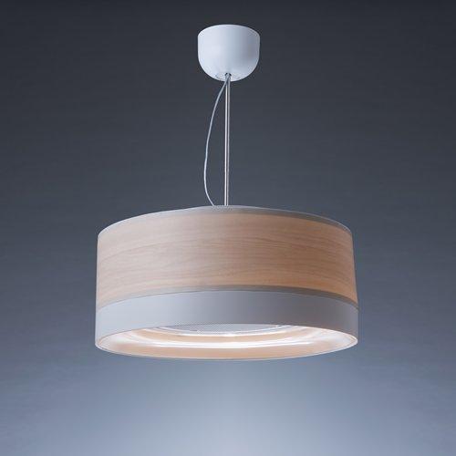 (お取り寄せ)富士工業 cookiray( クーキレイ )空気清浄器付き照明 「 C-FUL501-WW 」 ウッドホワイト CFUL501WW