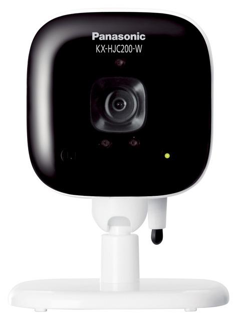 (お取り寄せ)パナソニック Panasonic 屋内カメラ KX-HJC200-W ホワイト(KXHJC200W)ホームネットワーク システム