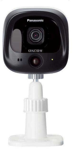 (お取り寄せ)パナソニック Panasonic 屋外カメラ KX-HJC100-W ホワイト(KXHJC100W)ホームネットワーク システム