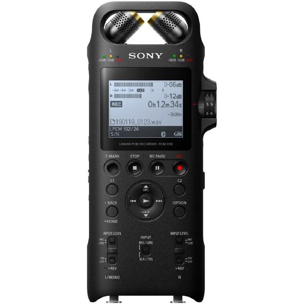 SONY PCM-D10 リニアPCMレコーダー [PCMD10]