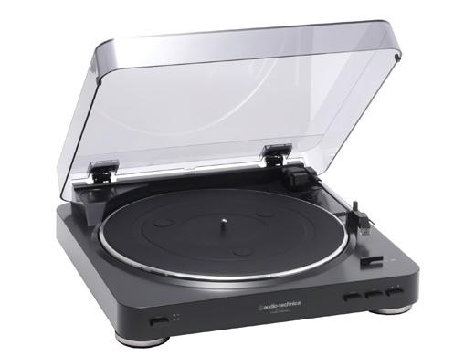 (お取り寄せ)レコードプレーヤー AT-PL300 BK オーディオテクニカ(audio-technica) ステレオターンテーブルシステム