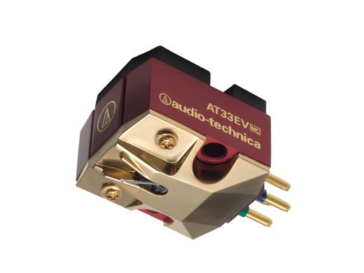 (お取り寄せ)オーディオテクニカ(audio-technica) AT33EV MC型(デュアルムービングコイル)ステレオカートリッジ