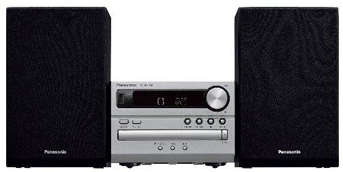 Panasonic CDステレオシステム USBメモリー/Bluetooth対応 シルバー SC-PM250-S(長期安心保証対象商品)
