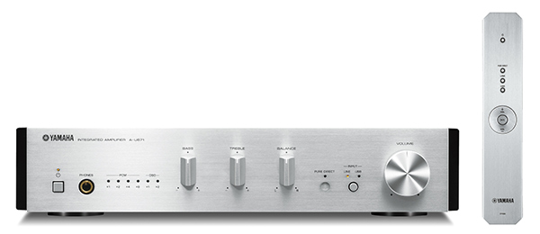 ヤマハ(YAMAHA)プリメインアンプ ハイレゾ音源対応 A-U671S(シルバー)