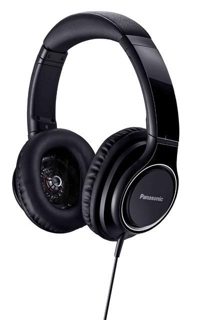 (お取り寄せ)Panasonic(パナソニック) ステレオヘッドホン ハイレゾ音源対応 RP-HD5-K(RPHD5K)