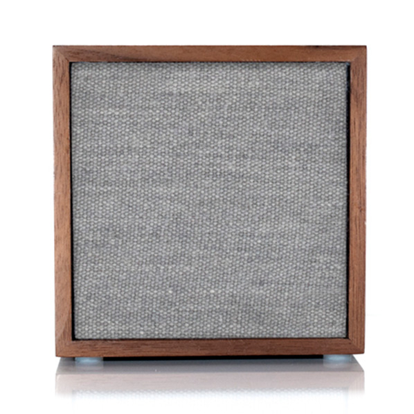 (お取り寄せ)Tivoli Audio Bluetoothワイヤレススピーカー ART CUBE Walnut/Grey CUB-1741-JP [CUB1741JP]