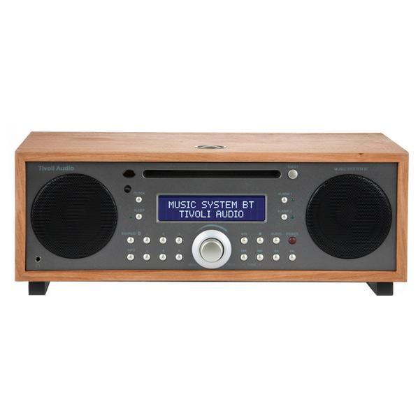 Tivoli Audio MSYBT-1530-JP Bluetooth対応ミニコンポ Music System BT チェリー/メタリックトープ [MSYBT1530JP]