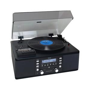 TEAC LP-R550USB カセットプレーヤー付CDレコーダー ブラック [LPR550USB]