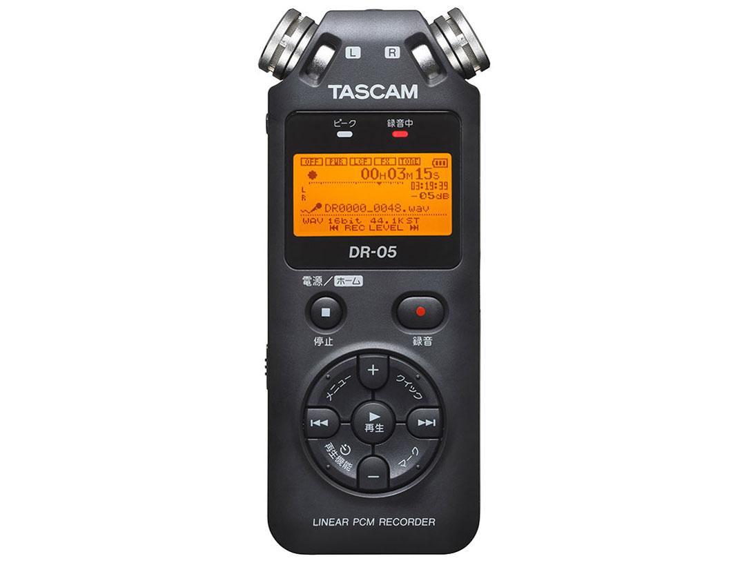 タイマー録音機能を追加した リニアPCMレコーダー 入荷予定 DR-05 後継機種 TASCOM 休日 VER 24bit 96kHz対応リニアPCMレコーダー タスカム DR05VER