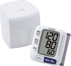 返品送料無料 送料無料 シチズン 買い物 CITIZEN CH-650F 電子血圧計 手首式血圧計